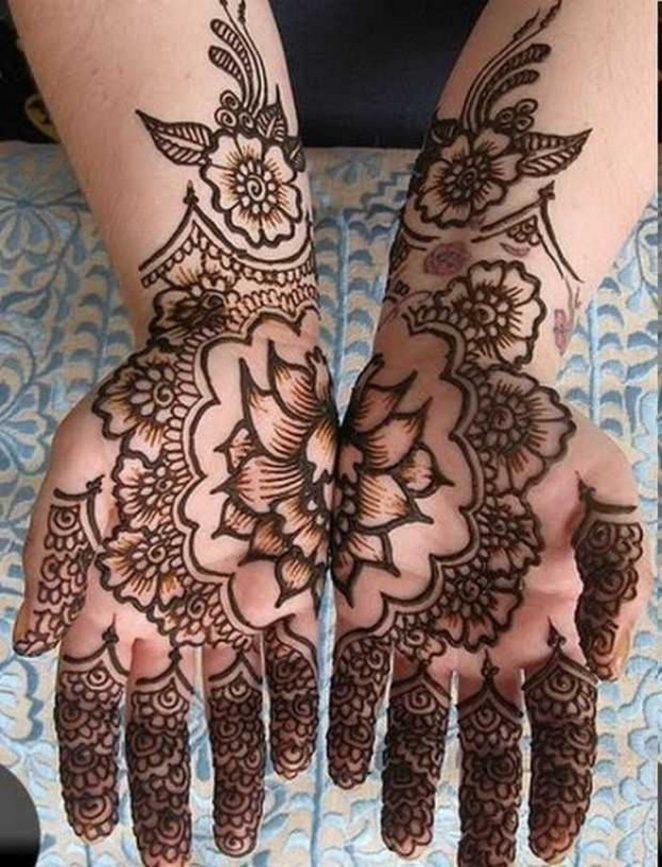 Eid Ul Fitr Mehndi Designs For This Summer Season 2017 12