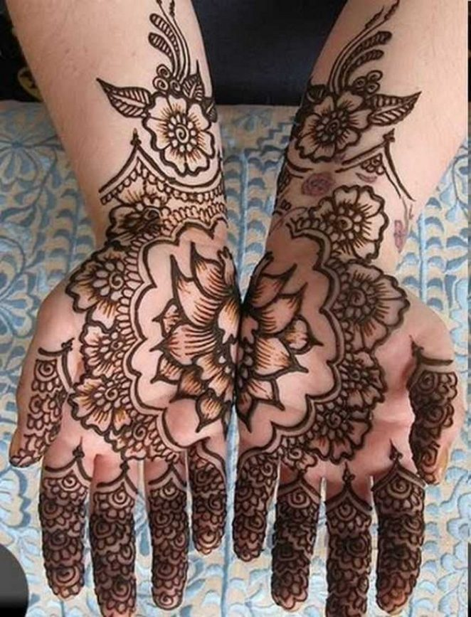 Eid Ul Fitr Mehndi Designs For This Summer Season 2017 12