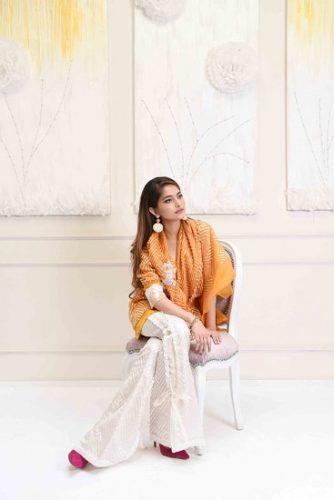 Farah Talib Aziz Eid Modern Collection For Woman 2017 7