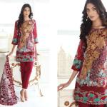 Floss Embroidered Luxury Lawn Shalwar Kameez Vol-2 2017 8