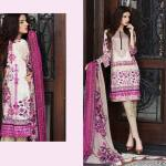 Floss Embroidered Luxury Lawn Shalwar Kameez Vol-2 2017 9
