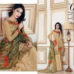Gul Ahmed Luxury Eid Shalwar Kameez 2017 11