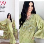 Gul Ahmed Luxury Eid Shalwar Kameez 2017 12