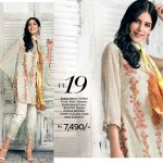 Gul Ahmed Luxury Eid Shalwar Kameez 2017 18