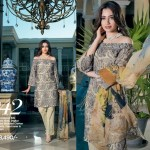 Gul Ahmed Luxury Eid Shalwar Kameez 2017 8