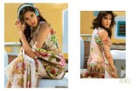 Honey Waqar Modern Lawn Summer Dresses 2017