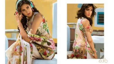 Honey Waqar Modern Lawn Summer Dresses 2017