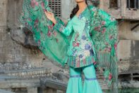 Ivy Gulzar Casual Eid Lawn Shalwar Kameez Collection 2017