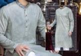 Junaid Jamshed Eid Kurta Shalwar Trendy Collection 2017 8
