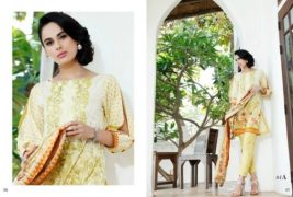Mahnoor Embroidered Eid Casual Lawn AlZohaib 2017 8