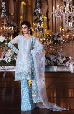 Maria B MBroidered Unstitched Eid Collection 2017 9