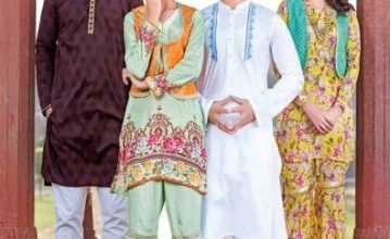 Eid Ul Fitr Traditional Collection For Men and Woman By Yellow 2017