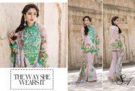 Qalamkar Eid Lawn Collection Embroidered Modern Dresses 2017
