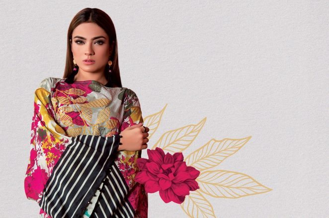 Alkaram Digital Lawn Summer End Season 2017