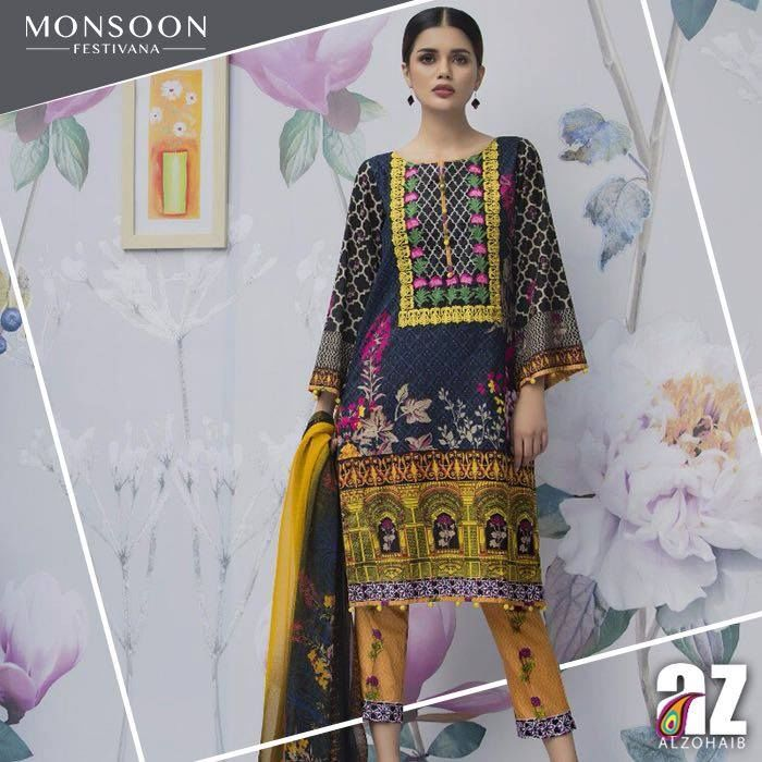 Monsoon Festivana Al Zohaib Summer Collection 2017