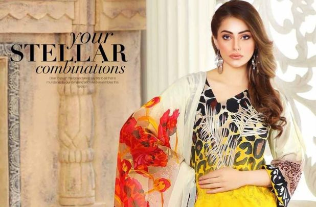 Charizma Monsoon Embroidered Lawn Vol-5-2017