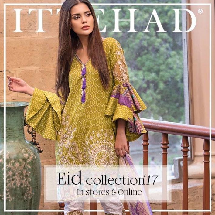 Ittehad Izabel Eid Ul Azha Collection 2017