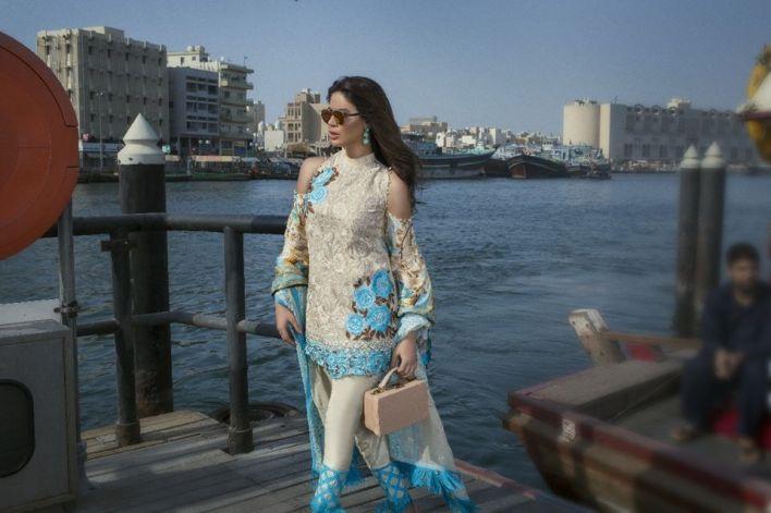 Ayesha Ibrahim Formal Chiffon Collection ZS Textiles 2017-18