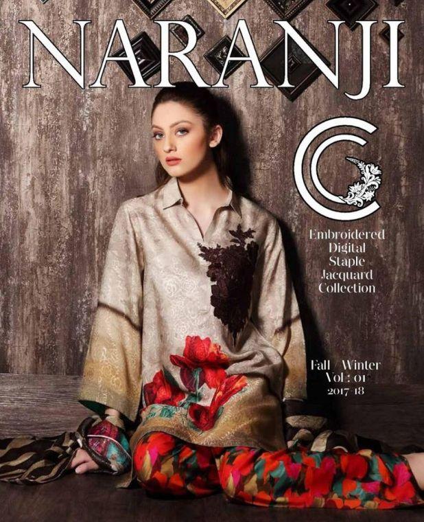 Charizma Naranji Winter Collection 2017-18
