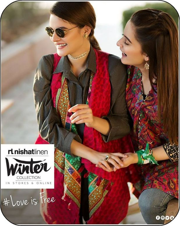 Nishat Linen Casual Winter Collection 2017-18