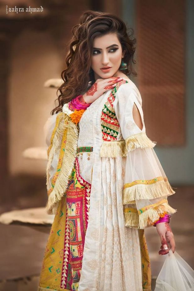 Zahra Ahmed Traditional Classic Dresses 2017-18