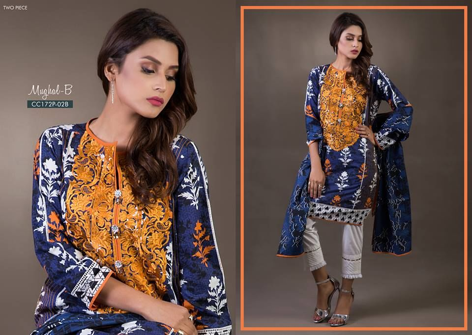 Bonanza Satrangi Cambric Dresses Collection 2018