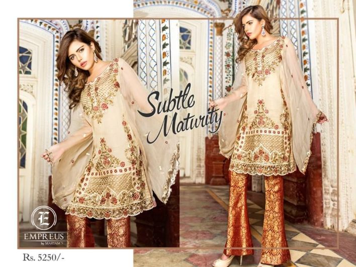 Empreus Luxury Winter Collection By Maryam 2018
