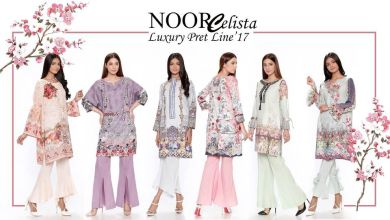 Noor Luxury Pret Dresses Saadia Asad Collection 2018