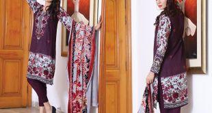 Sana Samia Twill Palachi Winter Collection Lala 2018