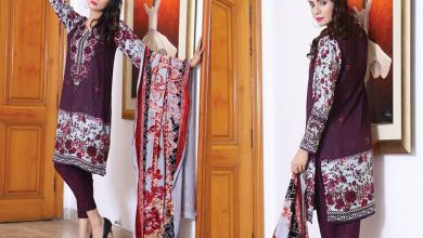 Sana Samia Twill Palachi Winter Collection Lala 2018