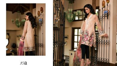 Luxury Embroidered Winter Tunics Veena Durrani Collection 2018
