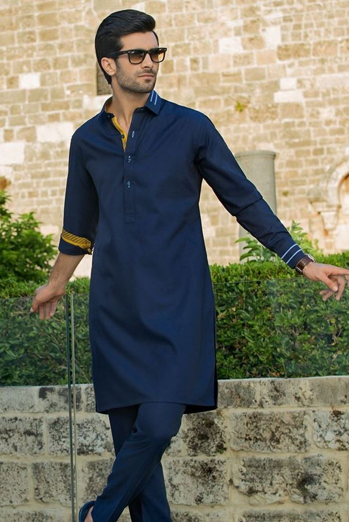 Sania Maskatiya Casual Kurta Collection Menswear 2018