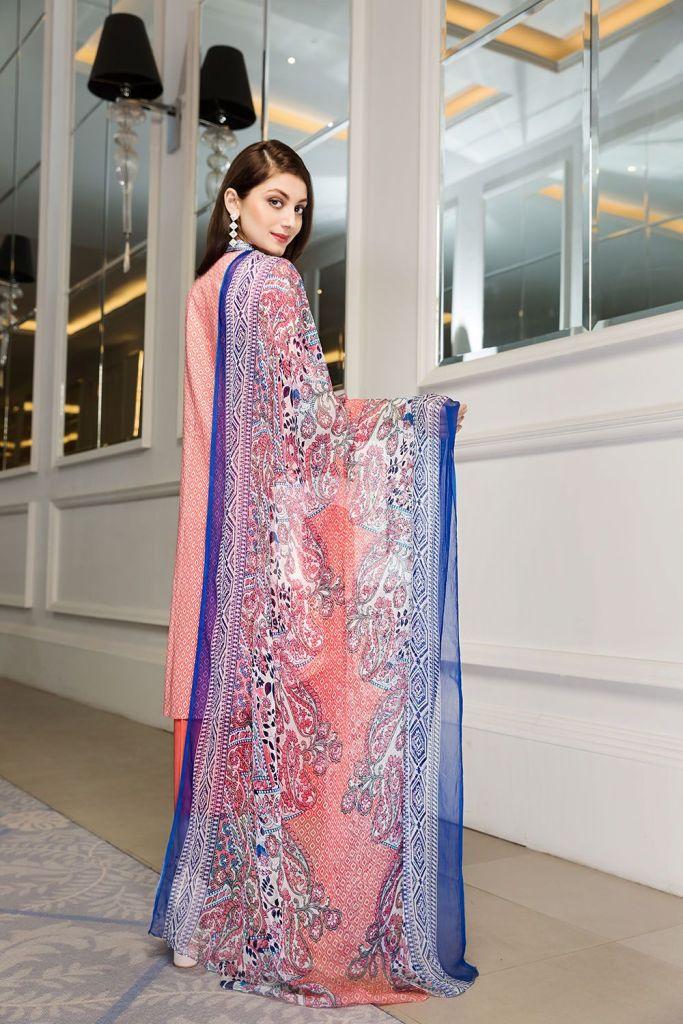 Nishat Linen Summer 3 Piece Lawn Dresses 2018