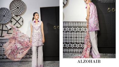 Mahgul Luxury Semi Formal Lawn Collection Al Zohaib 2018