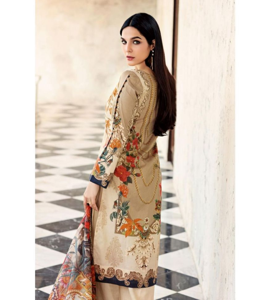 f02babf273 Gul Ahmed Unstitched Spring Summer Lawn 2019. in Pakistani Fashion