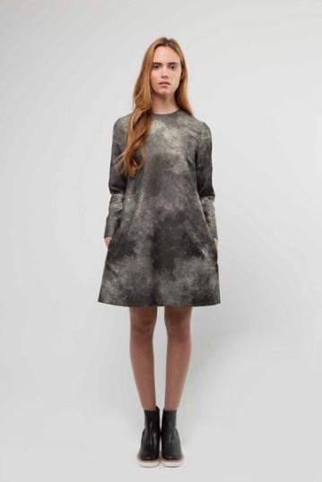 Metallic Cosmos Shift Dress £425