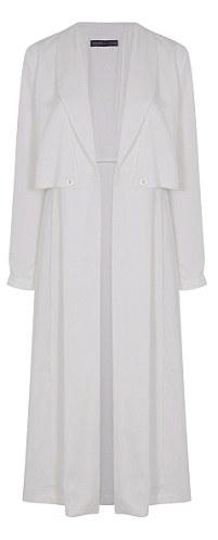 White Duster Coat £80