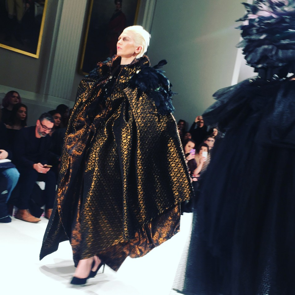 Hellavagirl Couture London Fashion Week FW17 BRocade