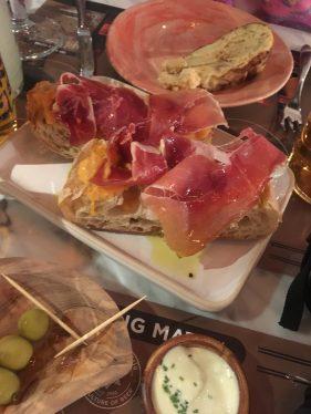 Tapas Revolution Iberico Ham