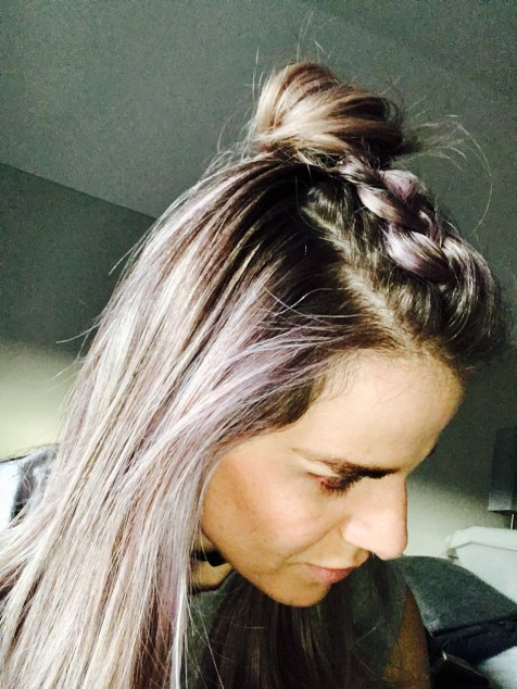 SHOW Beauty Braided Top Knot