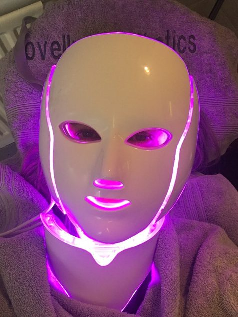 Opera LED Mask Pink Light