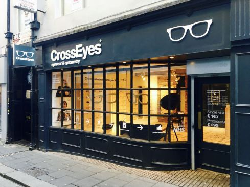 Crosseyes Newcastle shop front