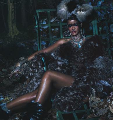 Edward Enninful W magazine Rihanna