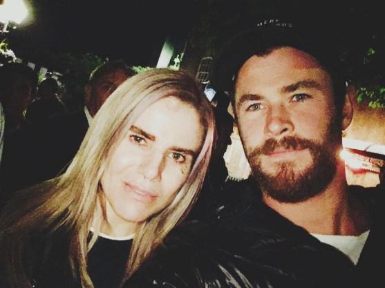 Pixie & Chris Hemsworth Avengers infinity War