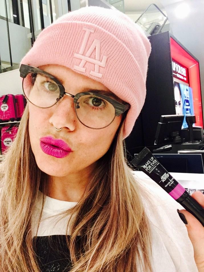 Makeup Forever Intu Metrocentre Artist Acrylic Lip Paint