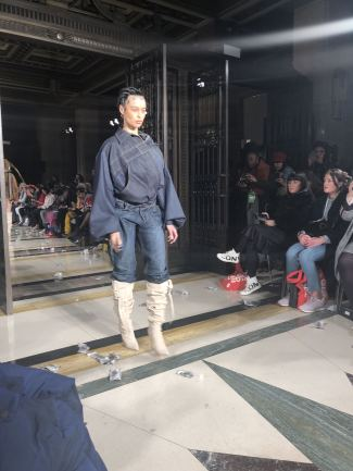 Fortie Label FW18 denim at London Fashion Week