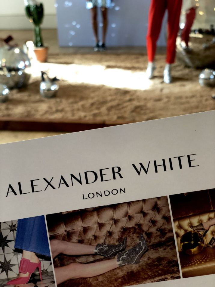 The show pack for Alexander White FW18 Presentation London Fashion Week