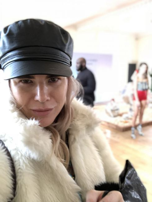 A picture of Pixie tenenbaum at the Alexander White FW18 Presentation London Fashion Week