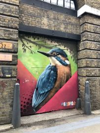 Street Art in Shoreditch: The Shoreditch Swallow