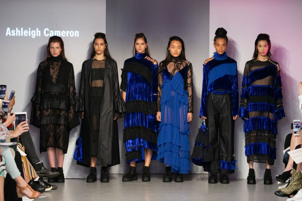 The Programme for Fashion & Textile Design at Winchester School of Art Graduate Design Runway Show June 2018 4